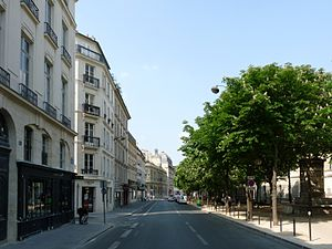 Rue Bonaparte - view starting at no. 88 rue Bonaparte