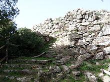 Particolare del Nuraghe Bruncu Madugui, il più antico della Sardegna