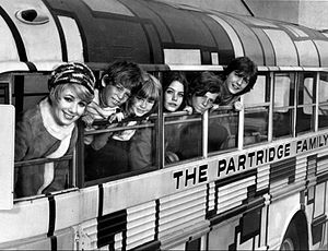 The Partridge Family - The Partridge Family, season 1. L-R: Shirley Jones, Jeremy Gelbwaks, Suzanne Crough, Susan Dey, Danny Bonaduce and David Cassidy