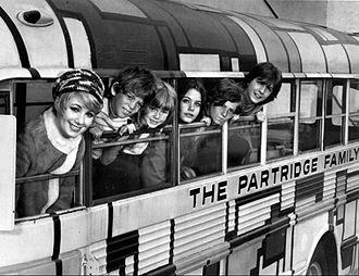 The Partridge Family - The Partridge Family, season 1. L-R: Shirley Jones, Jeremy Gelbwaks, Suzanne Crough, Susan Dey, Danny Bonaduce and David Cassidy