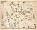 Pas-caart va Canaal vertoonende in't Gheheel, Engelandt, Schotlant, Yrlandt, en een gedeelte van Vrancrijck. Op nieus oversien en verbetert 1669 (NYPL b13908778-1619031).jpg