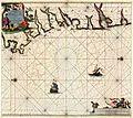 Paskaart Van Gallisien en Portugal Van C. de Finisterre totaen Zurara. - Johannes van Keulen, 1654-1715.jpg