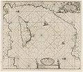 Paskaart van het oostelijk deel van de Middellandse Zee, met Cyprus Pas-kaart van 't oosterste deel vande Middellantsche Zee vervattende de zee-kusten van Caramania, Cyprus Soria en Ægiptia. (titel op object), RP-P-1896-A-19368-3082.jpg