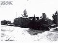 Passenger Train crossing Main St Laurelville OH approx 1903.jpg