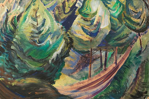 Path among Pines by Emily Carr, c. 1930