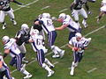 Patriots on offense at New England at Oakland 12-14-08 1.JPG