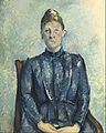 Paul Cézanne - Portrait of Madame Cézanne - Google Art Project.jpg