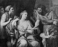 Peder Als - Dronning Semiramis som sværger ikke at ville rede sit hår før hun har underkuet et oprør - KMS3239 - Statens Museum for Kunst.jpg