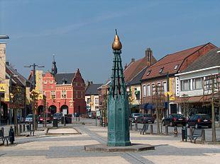 Stadt im franzosischen flandern