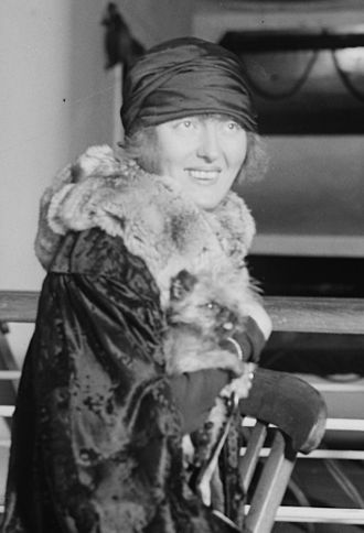 Peggy Hopkins Joyce - Peggy Hopkins Joyce in 1925