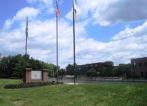 Pemberton Township High School - Image: Pemberton Township High School NJ front