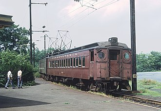 "Princeton Junction station - Princeton Branch ""Dinky"" in 1971"