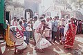 People collecting relief materials from NGO's at Kurusu Kuppam village in Pondicherry.jpg