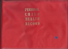 Personal Child Health Record - Wikipedia