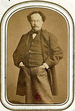Personnalités des arts et des lettres - Alexandre Dumas fils (Ponthieu)