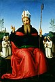 Perugino - St. Augustine with Members of the Confraternity of Perugia, c. 1500.jpg