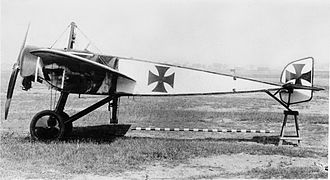Morane-Saulnier H - Pfalz E.I side view