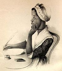 Phillis Wheatley frontispiece (cropped), 1834.jpg