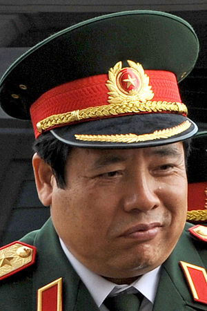 General Staff of the Vietnam People's Army - Gen. Phùng Quang Thanh, Chief of the General Staff from 2001 to 2006.