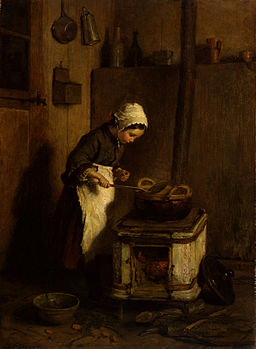 Pierre-Édouard Frère - The Little Housekeeper - Walters 3718