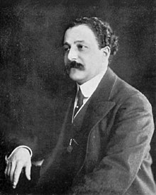 Pierre Monteux, Conductor of the Ballets Russes (c1911-1914) - Gallica (cropped, BW).jpg