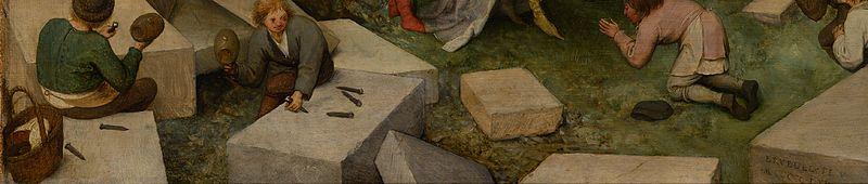 File:Pieter Bruegel the Elder - The Tower of Babel (Vienna) - Google Art Project-x0-y2.jpg