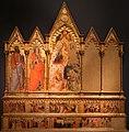 Pietro di miniato, incoronazione della vergine, santi, adorazione, e altre storie, 1412-13, da s. matteo a prato.jpg
