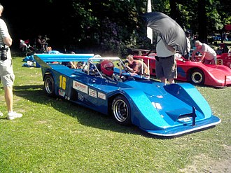 Pilbeam Racing Designs - Image: Pilbeam MP43 at Crystal Palace