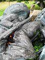 Pile of old soviet statues and monuments 3, Maarjamäe castle, Tallinn. Estonia.jpg