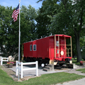 Pine Village, Indiana caboose.png