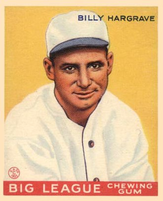 Pinky Hargrave - Pinky Hargrave 1933 Goudey baseball card
