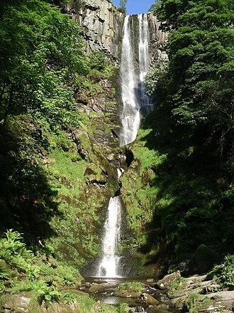 Seven Wonders of Wales - Image: Pistyll Rhaeadr 0073