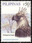 Pithecophaga jefferyi 2007 stamp of the Philippines 2.jpg