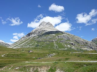 Piz Alv (Livigno Alps) - View from the south-west side