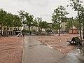 Place de la Croix-Rousse (Lyon) - chemin piéton.jpg