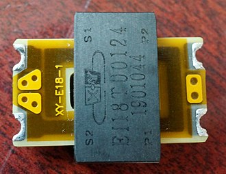 Planar transformers - Planar Transformer Top View