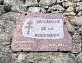 Plaque Esplanade de la Résistance à Embrun.JPG