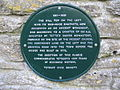 Plaque at Bath Bridge - geograph.org.uk - 320016.jpg
