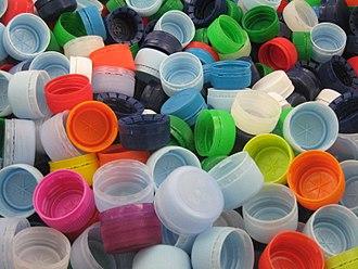Bottle cap - Plastic screw caps for bottles.