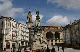 Basque Country (autonomous community) - Monument to the Battle of Vitoria, part of Spanish Independence War against the French rule.