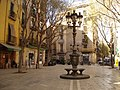 Plaza in the afternoon sunshine, El Borne (4481395072).jpg