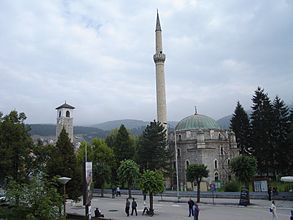 Pljevlja City-center Mosque.JPG