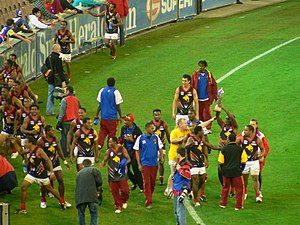 Sport in Papua New Guinea - Scenes of celebration as Papua New Guinea are crowned International Australian Rules Football champions after defeating New Zealand in the 2008 Australian Football International Cup Grand Final.