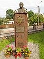 Podlaskie - Wizna - Wizna - Czarneckiego - Kaplica - Pomnik JPII - Front.jpg
