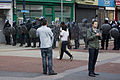 Police line streets of Lewis Grove, Lewisham, during 2011 riots.jpg