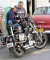 Police motorcycle of Cuba 04.JPG