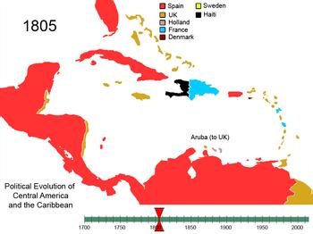 歴史[編集] 1805年の西インド諸島 リーワード諸島[編集] ウィリアム・スタプレトン(Wil