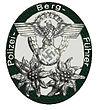 Polizei-BergführerabzeichenInsigne voor de berggidsen van de Duitse Politie