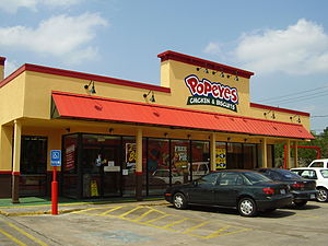 Popeyes - Popeyes restaurant in Houston, Texas, United States