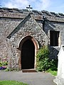 Porch, St Michael and All Angels Church, Muncaster - geograph.org.uk - 523815.jpg